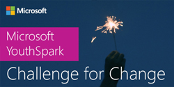 Get Involved with the Microsoft YouthSpark Challenge for Change